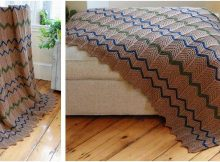 farmhouse knitted afghan   the knitting space
