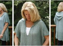 fresh 'n breezy knitted poncho | the knitting space