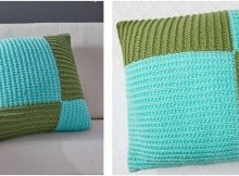 fresh 'n modern knitted pillow | the knitting space