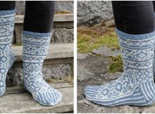 frost fighters knitted socks | the knitting space