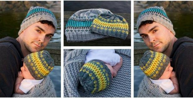 Fun Clayoquot Knitted Toque Free Knitting Pattern