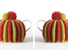 fun pleated knit tea cozy | the knitting space