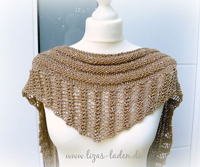 Gallatin Knitted Scarf Paid Knitting Pattern