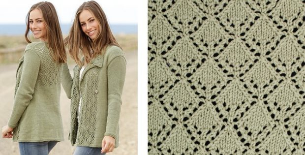 Garden Party Knitted Lace Jacket [FREE Knitting Pattern]