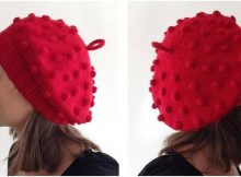 gorgeous Gretchen knitted beret | the knitting space
