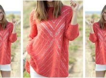 gorgeous knitted lace sweater | the knitting space