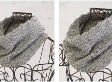 gorgeous knitted Naomi cowl | the knitting space