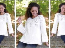 graceful Nineveh knitted sweater | the knitting space