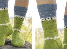 summer grazing knitted socks | the knitting space