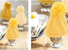 groovy knitted egg warmers | the knitting space