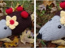 happy Harriette knitted hedgehog   the knitting space