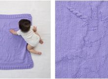 happy unicorn knitted baby afghan | the knitting space