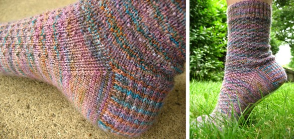 Hermione everyday knitted socks | the knitting space