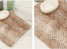 honeycomb knitted washcloth | the knitting space