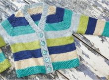hopscotch knitted cardigan | the knitting space