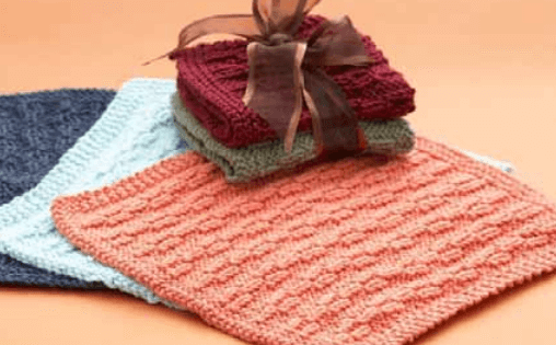 knit hostess dishcloth | the knitting space