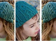 hugs 'n kisses knitted hat | the knitting space