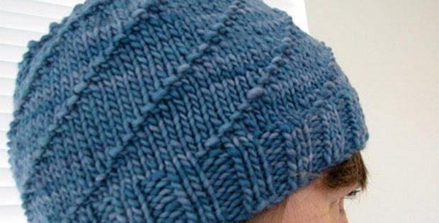 8ebc5bb7d1a Hurricane Knitted Unisex Beanie  FREE Knitting Pattern