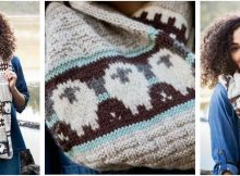 infinite sheep knitted scarf | the knitting space