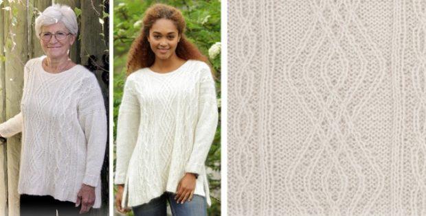 Irish Winter knitted sweater | the knitting space