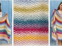 jazzy Jalisco knitted blanket | the knitting space