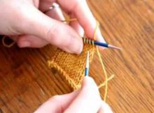 lace bind off   the knitting space