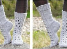 lace warmers knitted socks | the knitting space