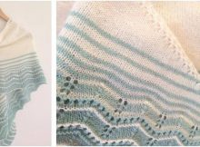 lovely Marcelle knitted wrap | the knitting space