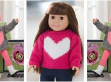 lovely knitted doll sweater | the knitting space
