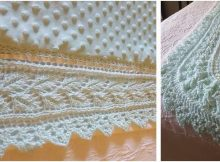lovely knitted lace edge border | the knitting space