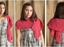 lovely knitted kudzu shawl | the knitting space
