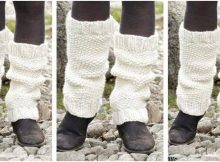 lovely lamb knitted leg warmers | the knitting space