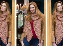 lovely souffle knitted wrap | the knitting space