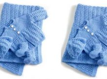 lullaby layette knitted set | the knitting space