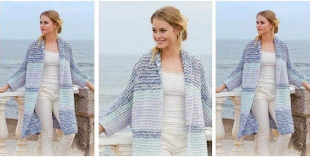 luxurious La Mare knitted jacket | the knitting space