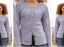 magic web knitted cardigan | the knitting space