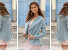 marvelous marea knitted jacket | the knitting space
