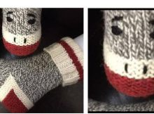 monkey work knitted socks | the knitting space