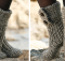 Nepal knitted moon socks | the knitting space