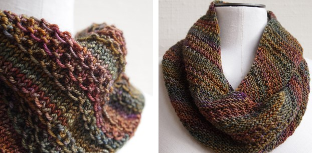 Nice Stitch Knitted Neck Warmer Free Knitting Space