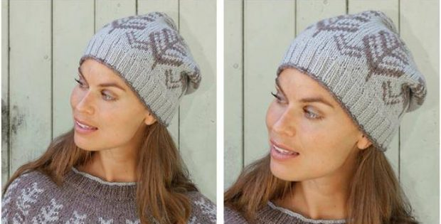 Nifty Inner Circle Knitted Hat Free Knitting Pattern
