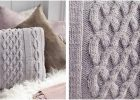 nifty Norfolk knitted pillow | the knitting space