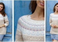 nifty Nougat knitted sweater | the knitting space