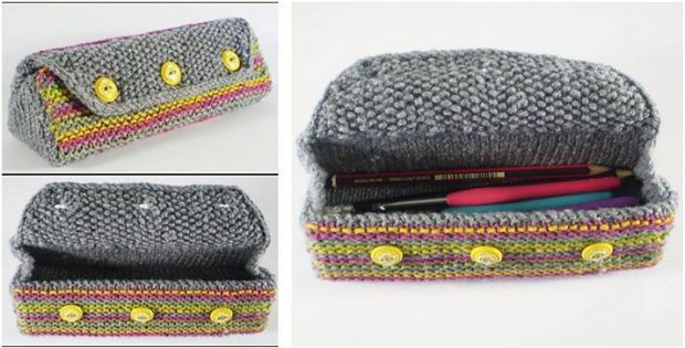 nifty Toby knitted multipurpose case   the knitting space