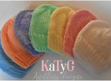 nifty neonatal knitted hats | the knitting space