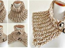 nifty quickly now knitted cowl | the knitting space