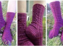 none plus five knitted socks | the knitting space