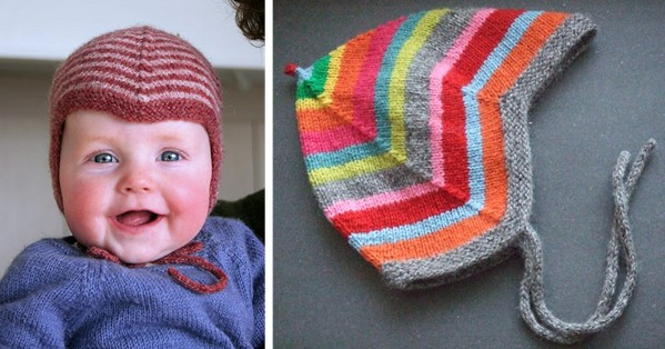 Norwegian Knitted Baby Cap Free Knitting Pattern