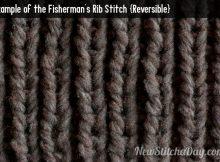 knitted fisherman rib stitch   the knitting space