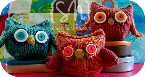 Knit Hooty Owl And Friends Free Knitting Pattern